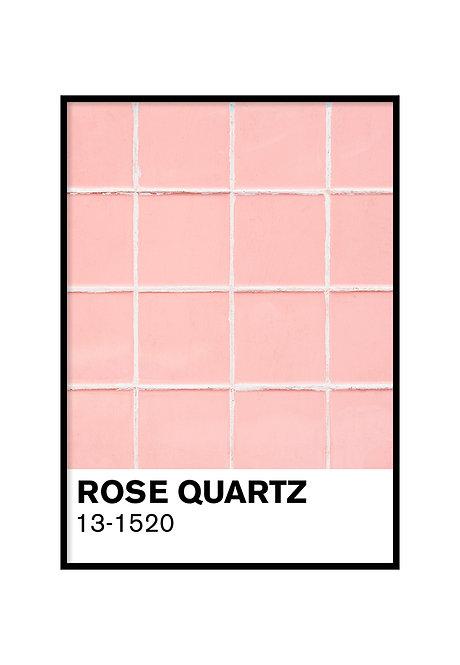 ROSE QUARTZ TILES, PRINTABLE