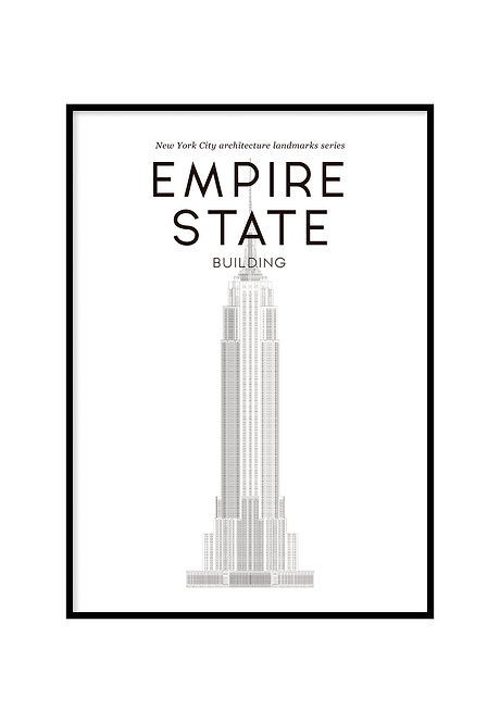 EMPIRE STATE BUILDING, PRINTABLE