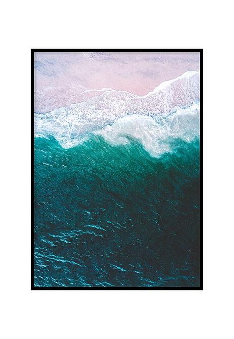 BEACH AERIAL, PRINTABLE