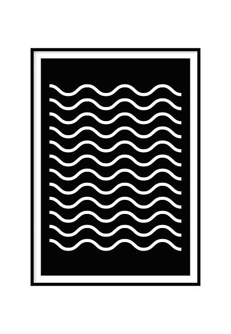 WAVES, PRINTABLE