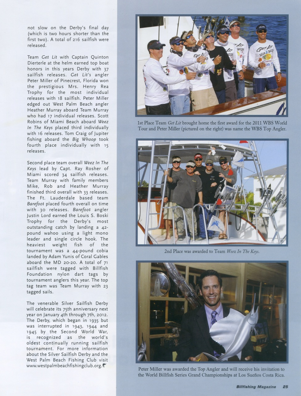 Silver Sailfish Get Lit wins 2011 2