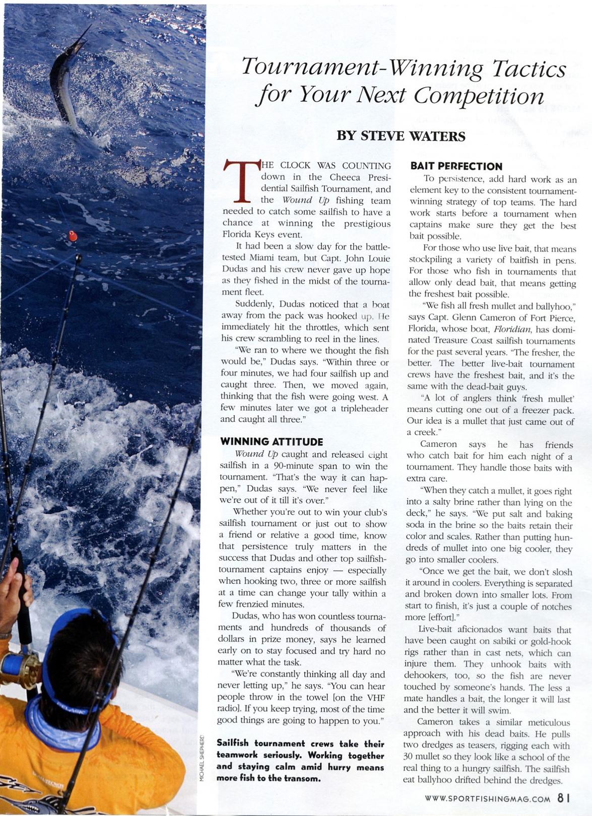 sport fishing 2nd page