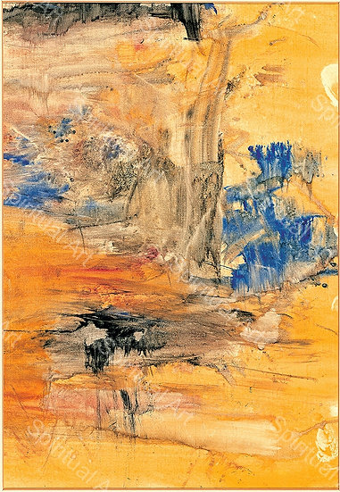 Paysage jaune de Chine III