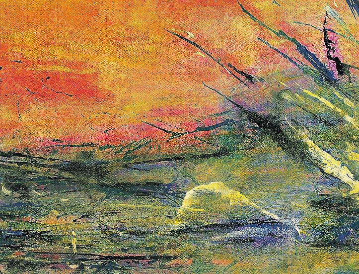 Présence II, Paysage du japon