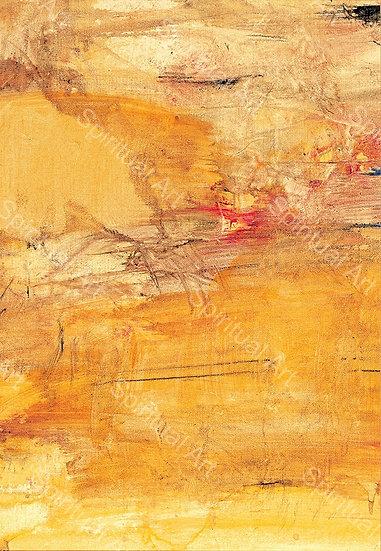 Paysage jaune de Chine II