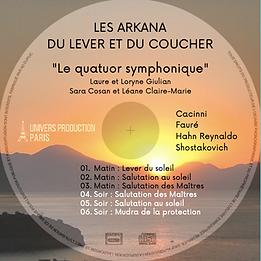 CD Les Arkana du lever et du coucher