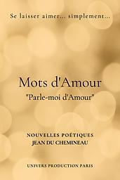 Livre Mots d'Amour Jean Du Chemineau