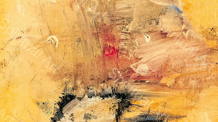 Paysage jaune de Chine I