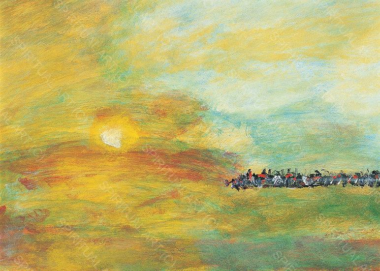 En marche vers la Lumière - Hommage à Turner