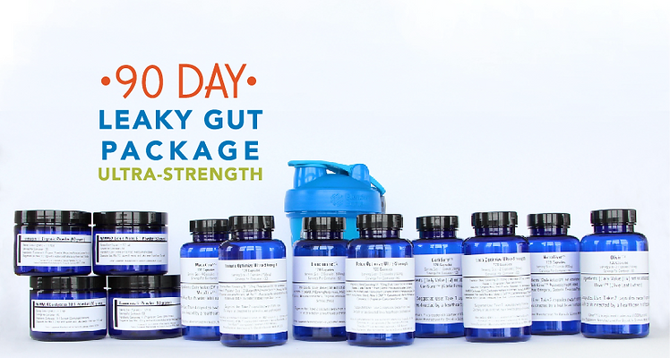 90 Day Leaky Gut Package Ultra-Strength