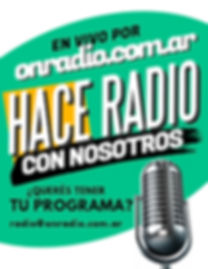Copia de Radio Talk Show Flyer - Hecho c