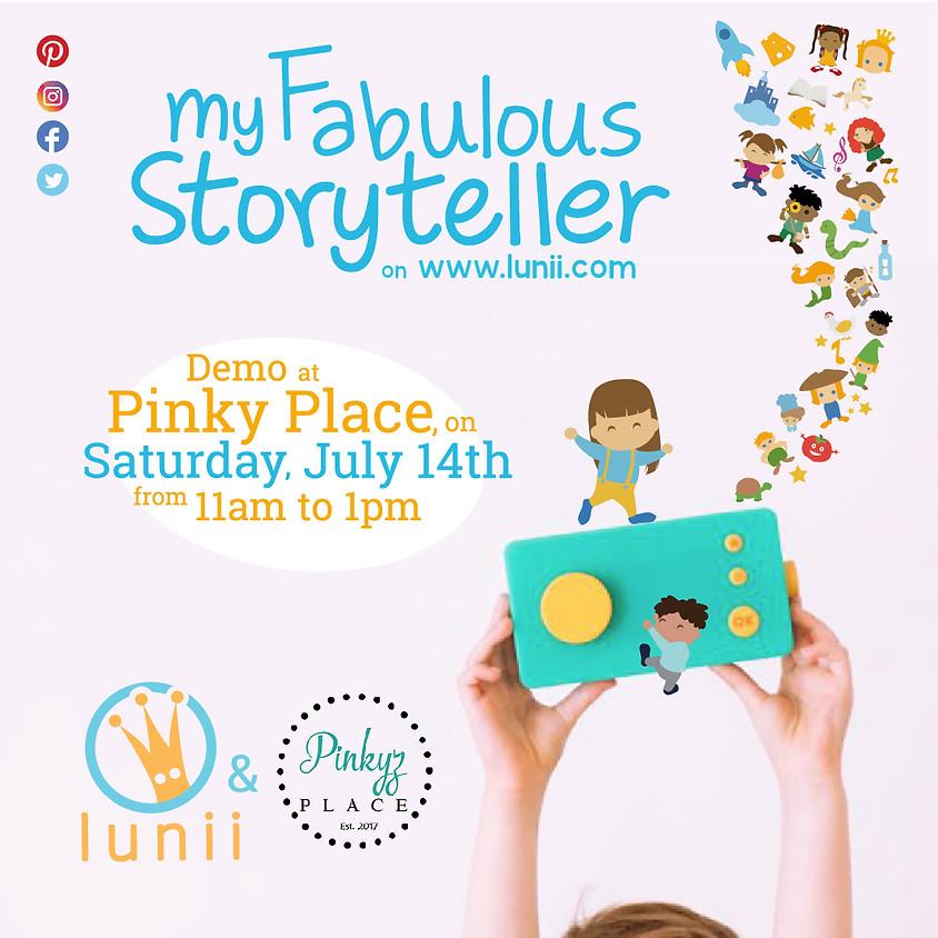 Lunii: Fabulous Storyteller Event