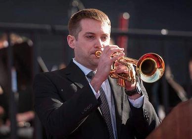 Don Clough, our lead trumpet player!