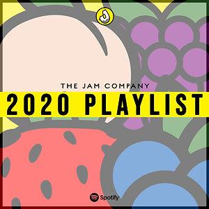 The Jam Company 2020 Playlist Graphic.jp