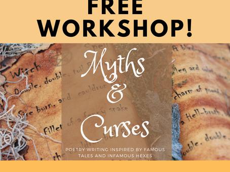 Myths & Curses: Free Creative Writing Workshop!