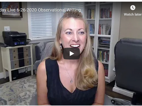 Improve Your Writing with Observation!
