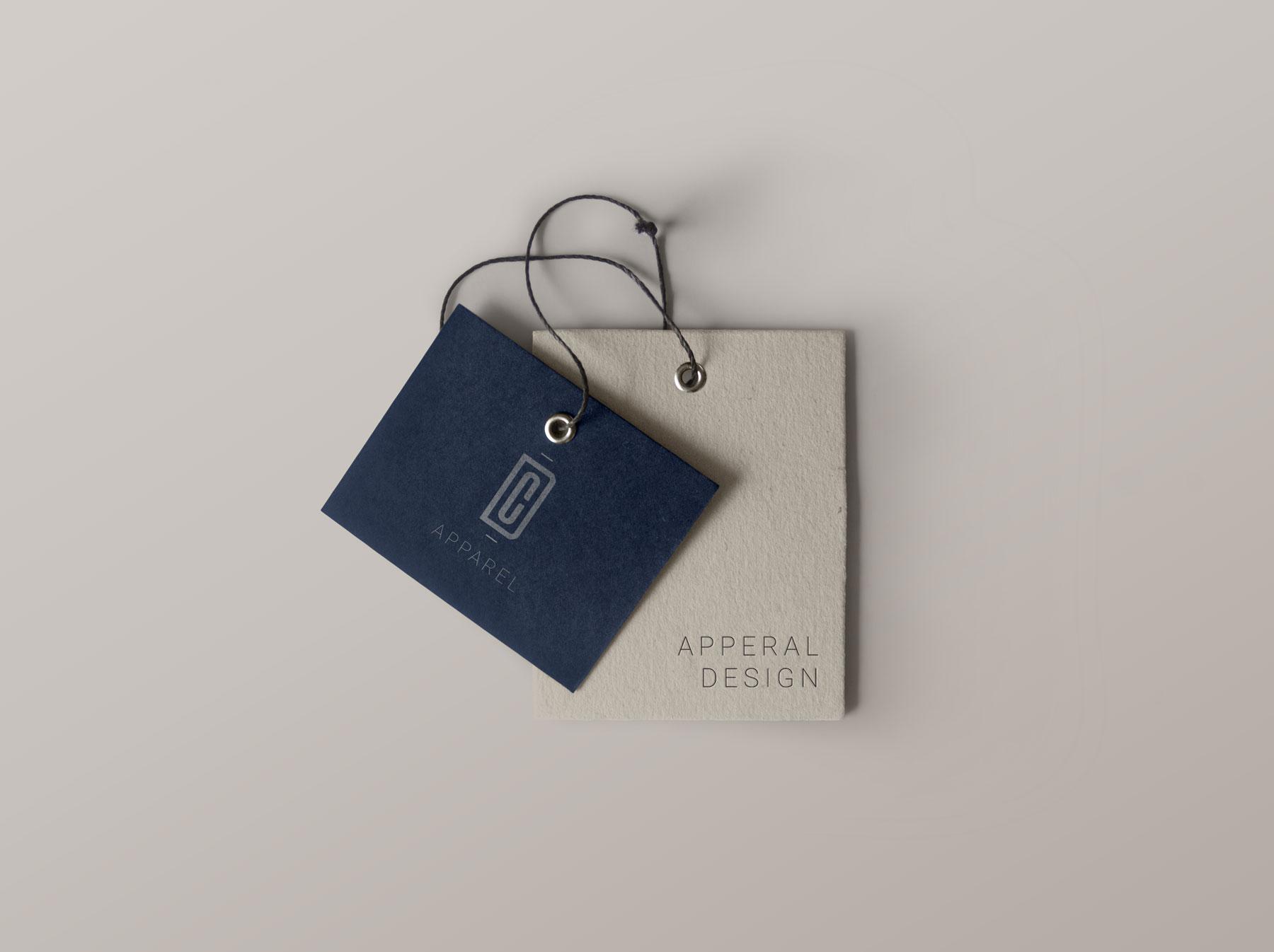 Apperal Tag Logo Design