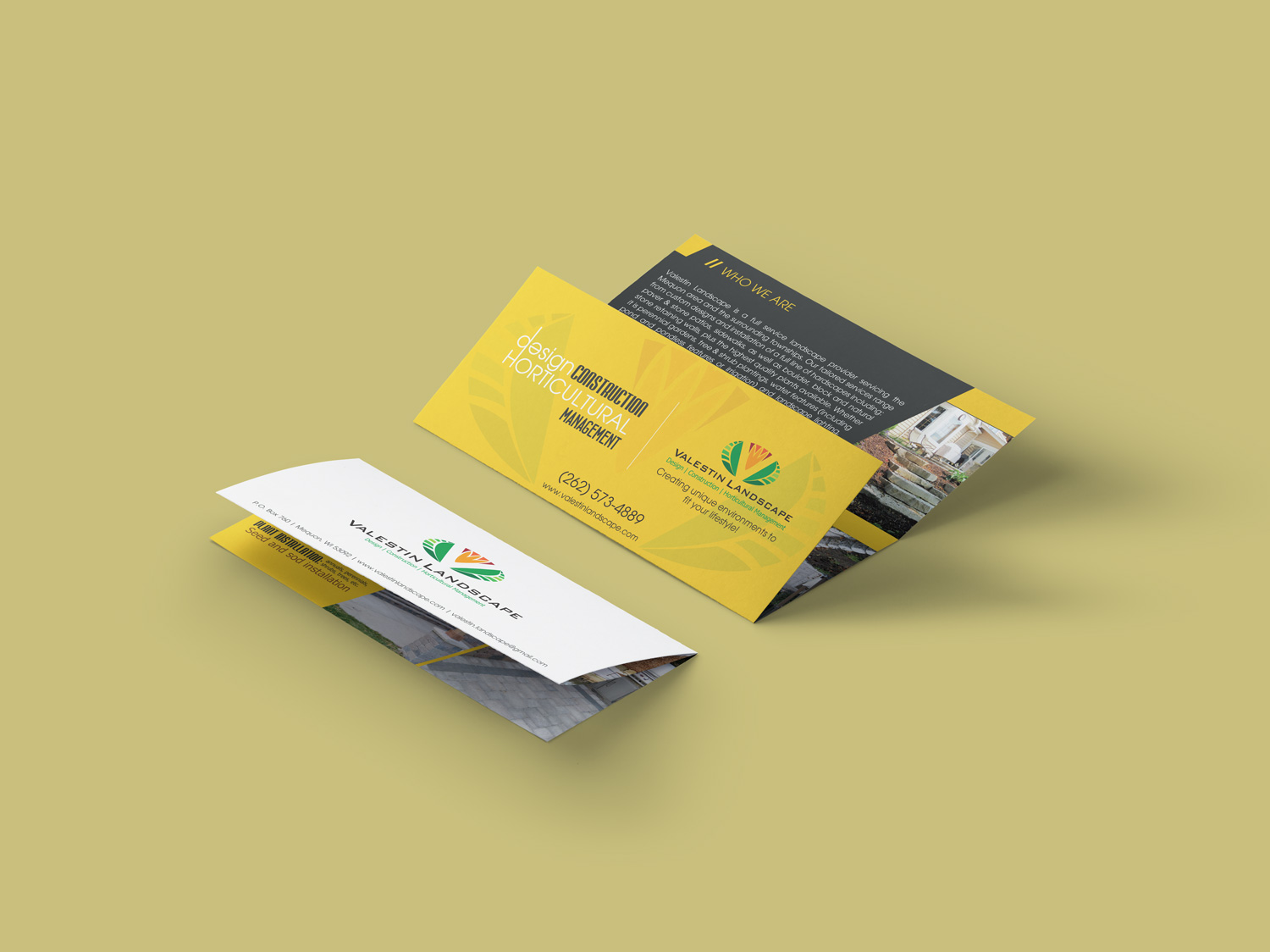 Valestin Brochure Design