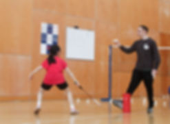 badminton coaching edinburgh