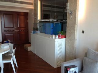 九龍塘住宅魚缸連鞋櫃