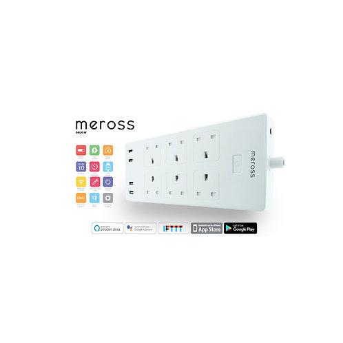 Meross - 6位WiFi 智能定時遙控拖板