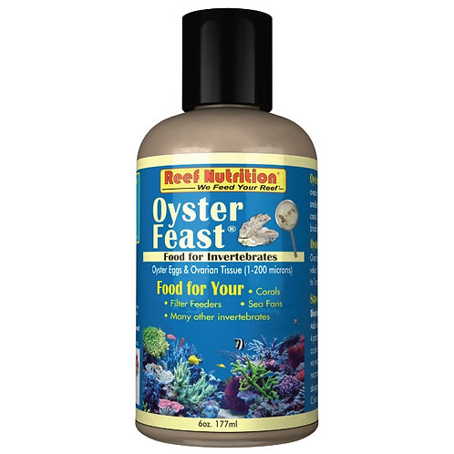 Coral food - Oyster Feast  6oz / 177ml