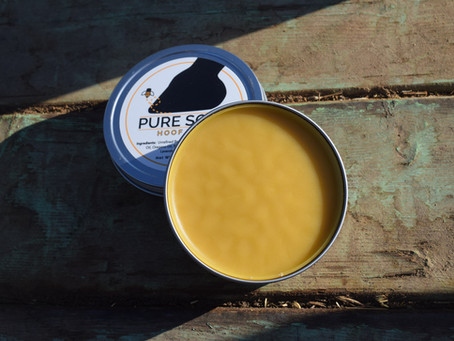 Get to know Pure Sole Hoof Wax