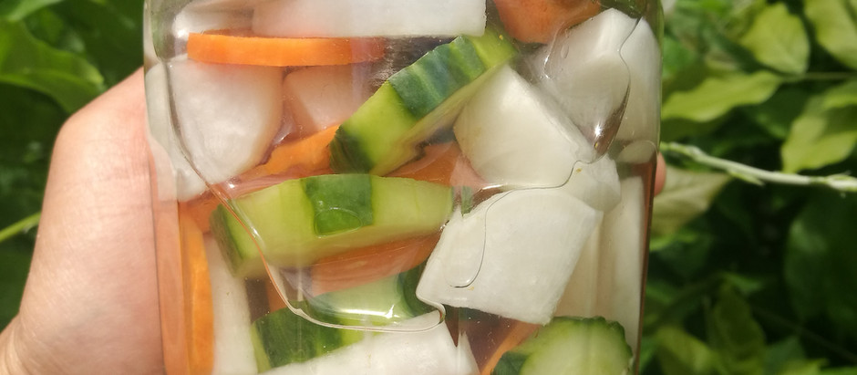 Pickles de Légumes Aigre-Doux