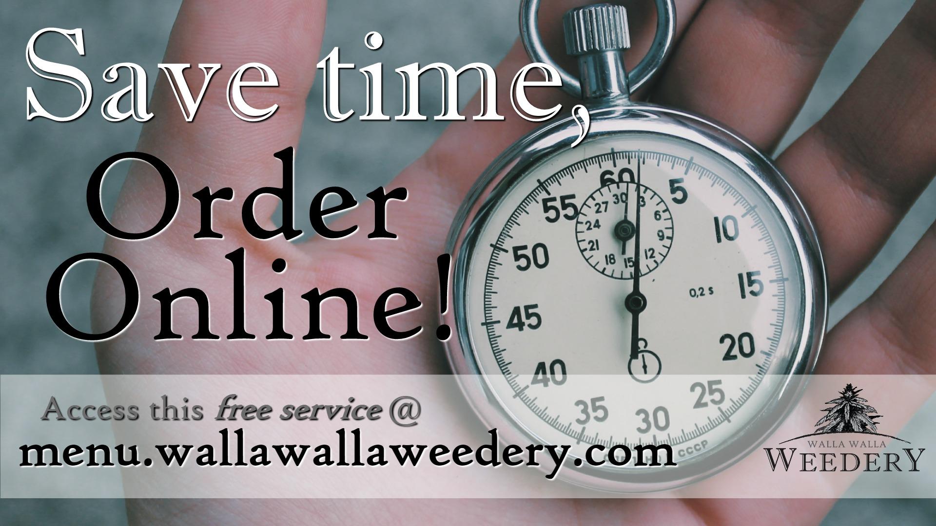 Online ordering-in store