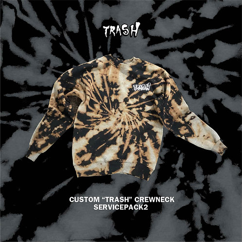 "Service Pack #2 ""TRASH"" Custom Crewneck"