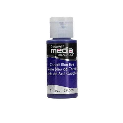 DecoArt Media Fluid Acrylics - Cobalt Blue Hue