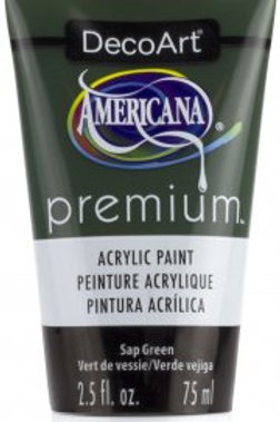 DecoArt Premium Acrylic Paint - Sap Green