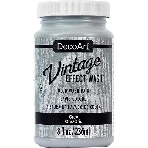 DecoArt Vintage Effect Wash - Grey