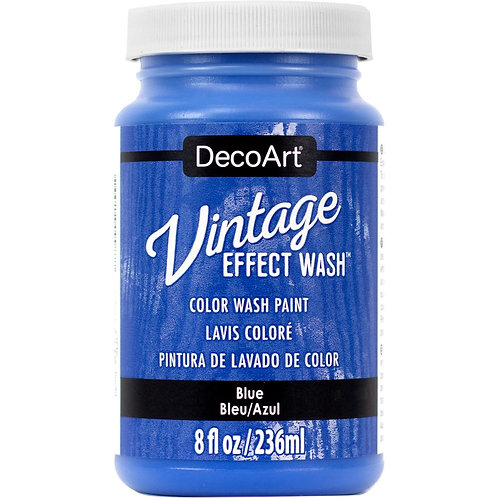DecoArt Vintage Effect Wash - Blue