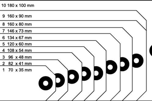 Tando Creative Tags 160mm x 80mm (Size 8)