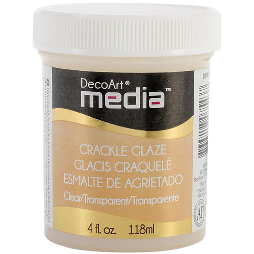 DecoArt Media Crackle Glaze - Clear
