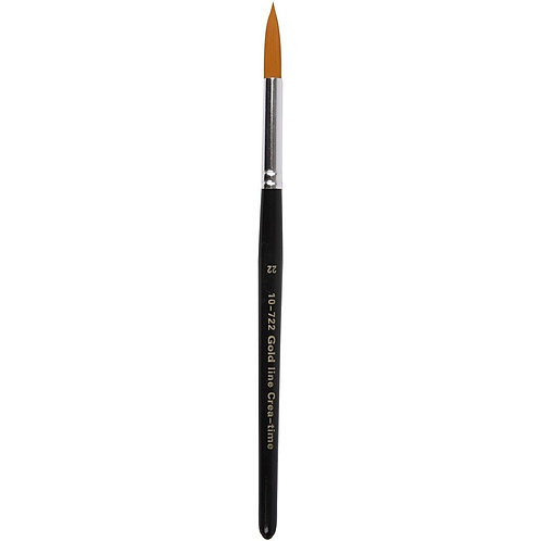 Gold Line Round Brush Size 22