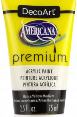 DecoArt Premium Acrylic Paint - Hansa Yellow Medium