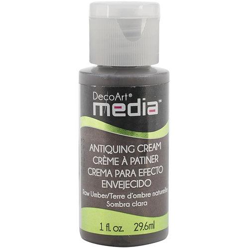 DecoArt Antiquing Cream - Raw Umber