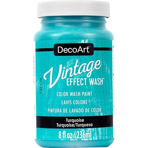 DecoArt Vintage Effect Wash - Turquoise
