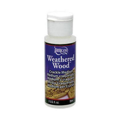 DecoArt Weathered Wood Crackling Medium