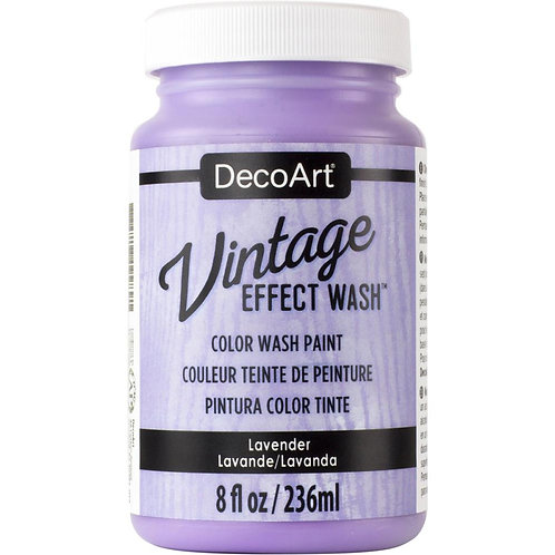 DecoArt Vintage Effect Wash - Lavender