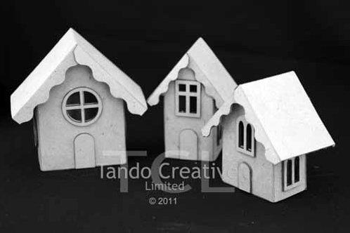 Tando Creative Mini House Trio with Accesories