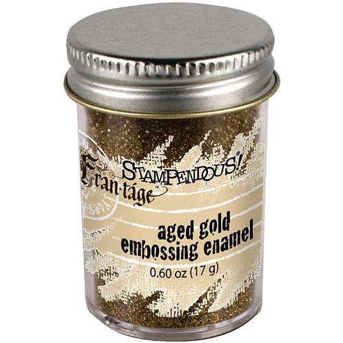 Stampendous Frantage Aged Embossing Enamel - Aged Gold