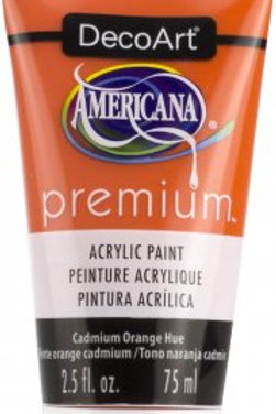 DecoArt Premium Acrylic Paint - Cadmium Orange Hue