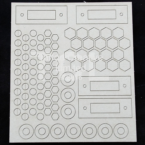 Tando Creative Industrial Elements Bolts and Washers Set