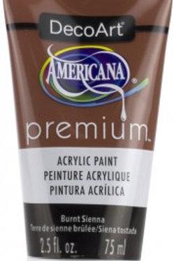 DecoArt Premium Acrylic Paint - Burnt Sienna