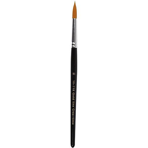 Gold Line Round Brush Size 18