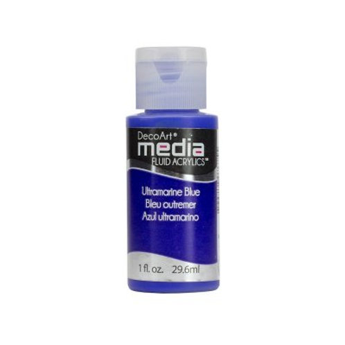 DecoArt Media Fluid Acrylics - Ultramarine Blue