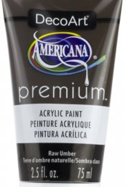 DecoArt Premium Acrylic Paint - Raw Umber